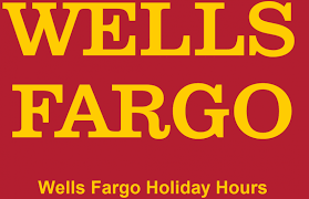 Wells Fargo Holiday Hours